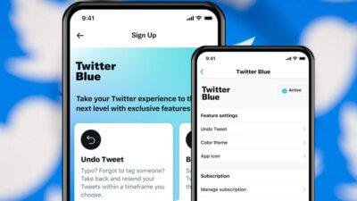 New Twitter Blue UI