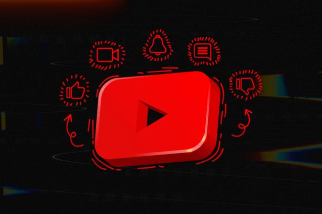 YouTube studio background